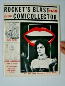 1979 Rocket's Blast Comic Collector #150 Rocky Horror Picture Show Cover RBCC
