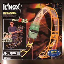 K'nex Raptor's Revenge Motorized Roller Coaster Building Set KNEX