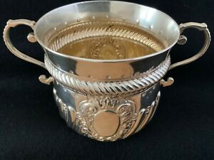 Victorian Solid Silver Bowl or PORRINGER 1900 London Josiah Williams & Co 146g