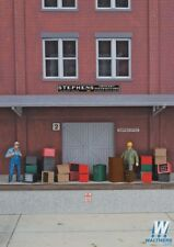 Walthers SceneMaster 949-4153 Beverage Crates and Bottles HO Scale Kit