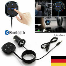 Auto KFZ Bluetooth Wireless AUX in Empfänger Musik Audio Stereo 3.5mm Adapter DE