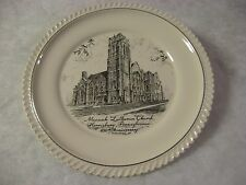 MESSIAH LUTHERAN CHURCH - Harrisburg, PA - 100th Anniversary Plate