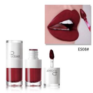 Fashion Cosmetics Pudaier Matte Velvet Lip Gloss Long Lasting Makeup Lipstick