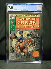 WHAT IF? #13 GRADED CGC 7.0 CONAN THE BARBARIAN February 1979 Marvel Comic Book