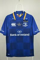 Rare Ireland Leinster 2017/2018 Home Rugby Shirt Champions Cup Canterbury Size S