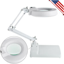 10X Magnifier Desk Light Precision Read Nail Art Tattoo Magnifying Lamp LED USA