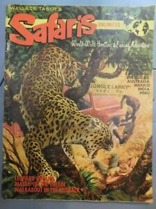 1960 SAFARIS UNLIMITED MAGAZINE