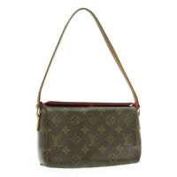LOUIS VUITTON Monogram Recital Hand Bag M51900 LV Auth 16971