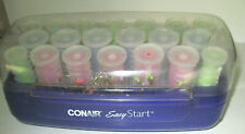 Conair Easy Start Electric Heated Curlers Rollers 20 Rods 18 Pins 3 sizes