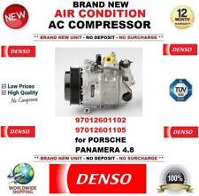 DENSO AIR CONDIZIONE COMPRESSORE AC 97012601102 97012601105 per Porsche Panamera