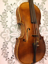 Old German Markneukirchen Violin Schuster & Co 4/4 Excellent Condition w/Bow NR!