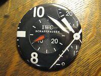 IWC Schaffhausen Switzerland Swiss Made Watch Advertisement Lapel Button Pin