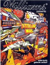 Williams stellar wars pinball cpu rom chip set