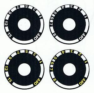 Sticker for ferret finder wheel (terrier locator dial)