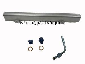 OBX Hi-Flow Fuel Rail Fit For Nissan Sentra SE Spec V 2.5L Silver