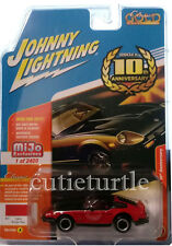 Johnny Lightning 1980 Datsun Nissan 280Z 280ZX 1:64 10 Anniversary JLCP7006 Red