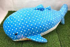 Jinbesan Jinbei Whale Shark Blue Plush Jinbei Whale Shark Jumbo Stuffed Toreba