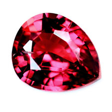 Certified Natural Untreated Ruby 0.34ct Unheated IF Flawless Madagascar Pear