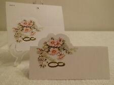 10 Tischkarten - Goldene Hochzeit - Dekoration 60%
