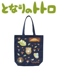 Marushin My Neighbor Totoro Shoulder Tote Bag w/Patch Gusset Totoro Icon Catbus