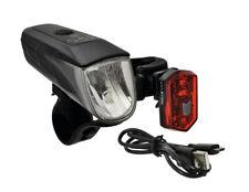 Büchel Sunrise Fahrradbeleuchtung Set 40 Lux LED Scheinwerfer Rücklicht StVZO