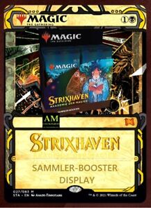 MAGIC THE GATHERING STRIXHAVEN - AKADEMIE DER MAGIER SAMMLER BOOSTER DISPLAY OVP