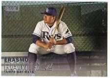 2016 Topps Stadium Club Baseball #190 Erasmo Ramirez Tampa Bay Rays