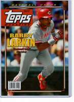 Barry Larkin 2019 Topps Archives Magazine 5x7 #TM-17 /49 Reds