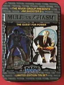 Mule Vs. Chasm (1994) Card Tin - From Defiant Comics & Jim Shooter - RARE