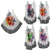 women dress tunic ladies summer beach top kaftan hippie boho party dress #3735