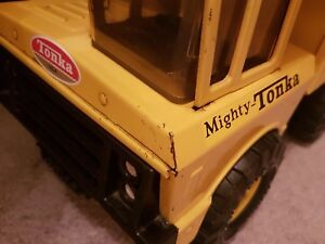 Custom Replacement Cab Decals '73 #3900 Mighty Dump Tonka Truck