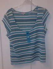 Per Una Waist Length Striped Jumpers & Cardigans for Women