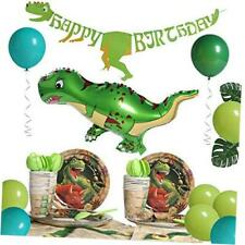 Dinosaur Party Supplies Dino Birthday Party Decorations Set 16 Pieces Jungle