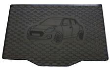 SUZUKI SWIFT SPORT à partir de 2012 sur mesure tapis de voiture noir avec bordure bleue