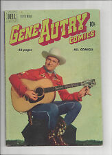 GENE AUTRY COMICS #43 Dell Comics 1950 Golden Age Western 10 cent cover VG