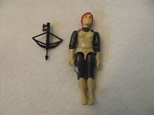GI Joe Figure Scarlett 1982/1983 w/black bow - Complete