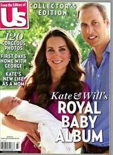 US Weekly Magazine Prince William Kate Middleton George ROYAL BABY ALBUM