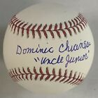 """Dominic Chianese """"Uncle Junior"""" The Sopranos Autographed MLB Baseball JSA"""