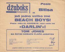 """THE BEACH BOYS DARLIN' RARE FLEXI 1968 RECORD YUGOSLAVIA 5"""""""