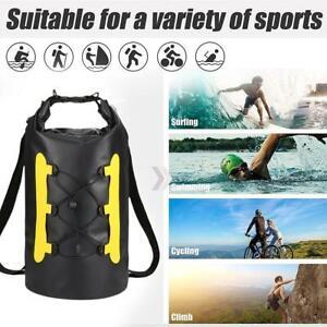Waterproof Air Bag Swims Buoy Swimming Tow Float Dry Bags w/ Waistbelt 15L