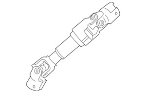 Genuine GM Intermediate Shaft 39087672
