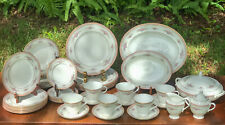 New ListingWedgwood Rosalie 41 Pc Set of Bone China/Dinnerware Set Service for 6 Plus!