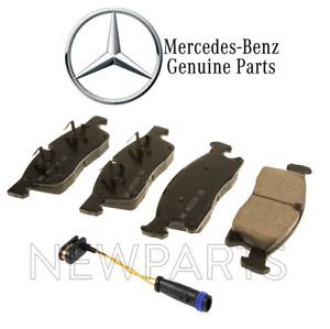 For Mercedes Benz ML250 from August 2013 Front Brake Pad Set+Sensor Genuine