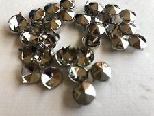 CJ54  50 oder 100 Stück Kegelnieten 10mm ,Ziernieten,Rundnieten