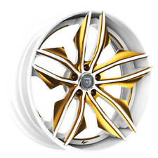 "(4) 22"" Staggered Lexani Forged Wheels LF-Luxury LZ-754 Fuse Custom Paint(B30)(Fits: LaCrosse)"