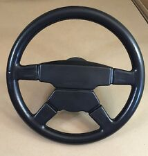 Rare Mercedes AMG MOMO Steering Wheel and W124 Hub M300 Hammer