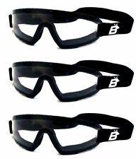 Storage Bags 3 Set Birdz Wing Sky Diving Parasailing Goggles Clear