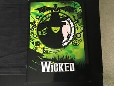 Wicked The Musical Brochure Program New York With Postcards
