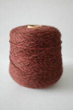 Inca Tops Baby Alpaca Knitting Yarn Plum Marl