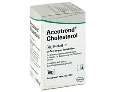 Accutrend Cholesterol Strips 25